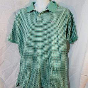 VINEYARD VINES Striped POLO Shirt Top